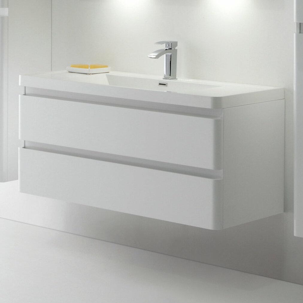 Orren Ellis Blaire Modern 48 Single Bathroom Vanity Set Wayfair