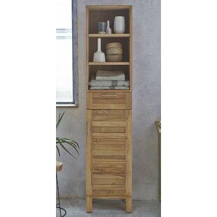 40 X 180cm Free Standing Tall Bathroom Cabinet By Tikamoon