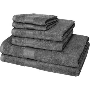 Premium 6 Piece Cotton Bath Towel Set
