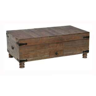 Millwood Pines Walburg Trunk with Lift Top