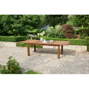 Edina Extendable Wooden Dining Table Image