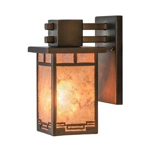 Meyda Tiffany 1-Light Outdoor Wall Lantern