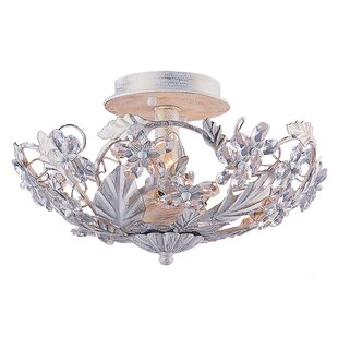 Viv + Rae Alta 3-Light Semi Flush Mount