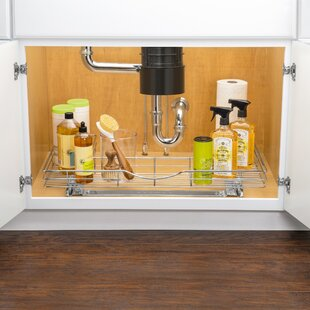 Lynk® Professional® U-Shaped Slide Out Under Sink Pull Out Drawer
