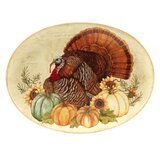 Layla Oval Turkey Platter