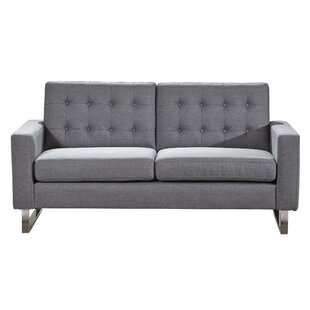 Gwen Standard Loveseat by Wrought Studio