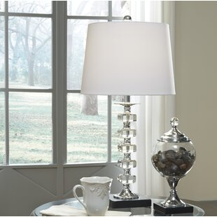 Best Reviews Chun 25 Table Lamp (Set of 2) By Ivy Bronx