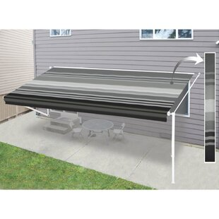 ALEKO Motorized Retractable Patio Awning