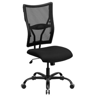 Latitude Run Ash High-Back Mesh Desk Chair