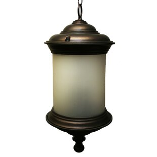Reviews Phillipstown 3-Light Outdoor Hanging Lantern By Alcott Hill