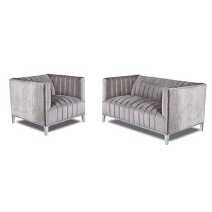 Herlihy 2 Piece Living Room Set by Mercer41