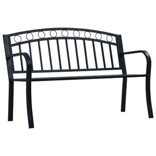 Batey Steel Bench By Brambly Cottage