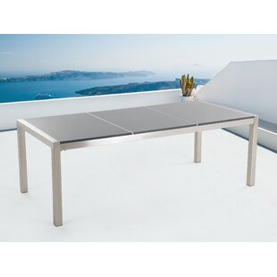 Lausanne Stainless Steel Dining Table By Sol 72 Outdoor