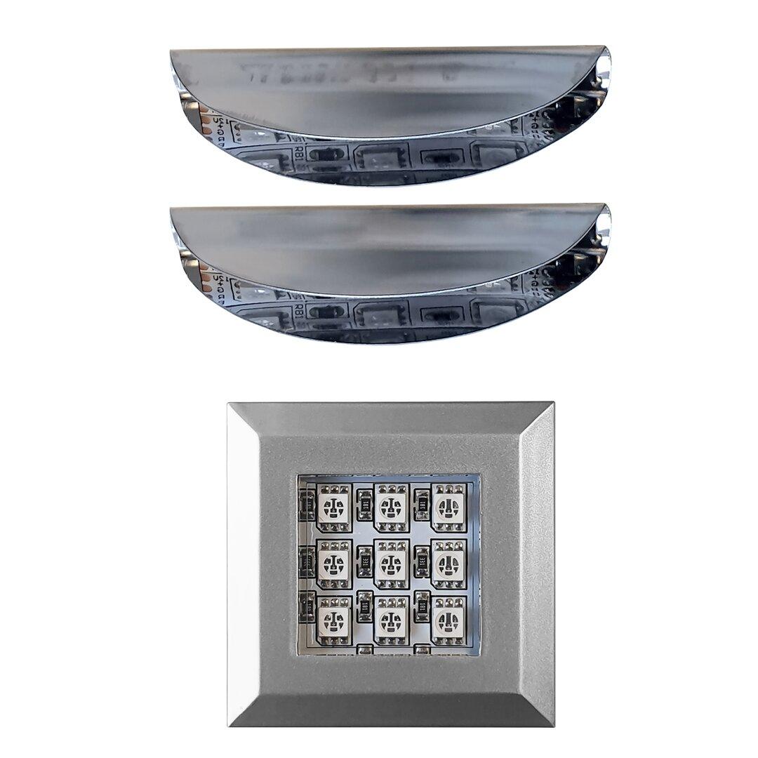 RGB LED Under Cabinet Puck Light