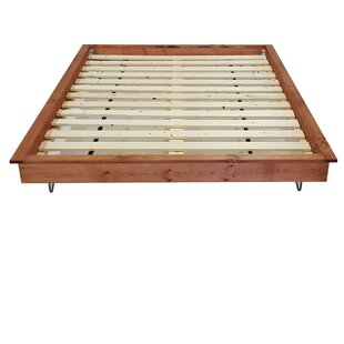 PeaceLoveWood Hairpin Platform Bed