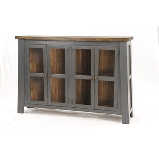 Lindahl Display 4 Door Accent Cabinet by Gracie Oaks