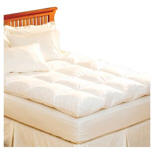 Pacific Coast Feather Luxe Loft Feathers Mattress Pad