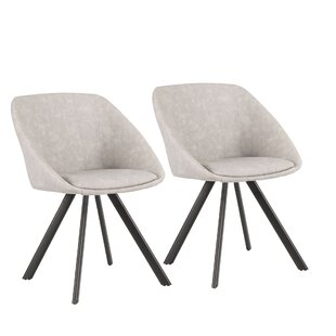 Lewallen Upholstered Dining Chair (Set Of 2) by Mercury Row Fresh