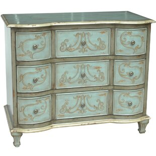 Thecle 3 Drawer Chest by One Allium Way