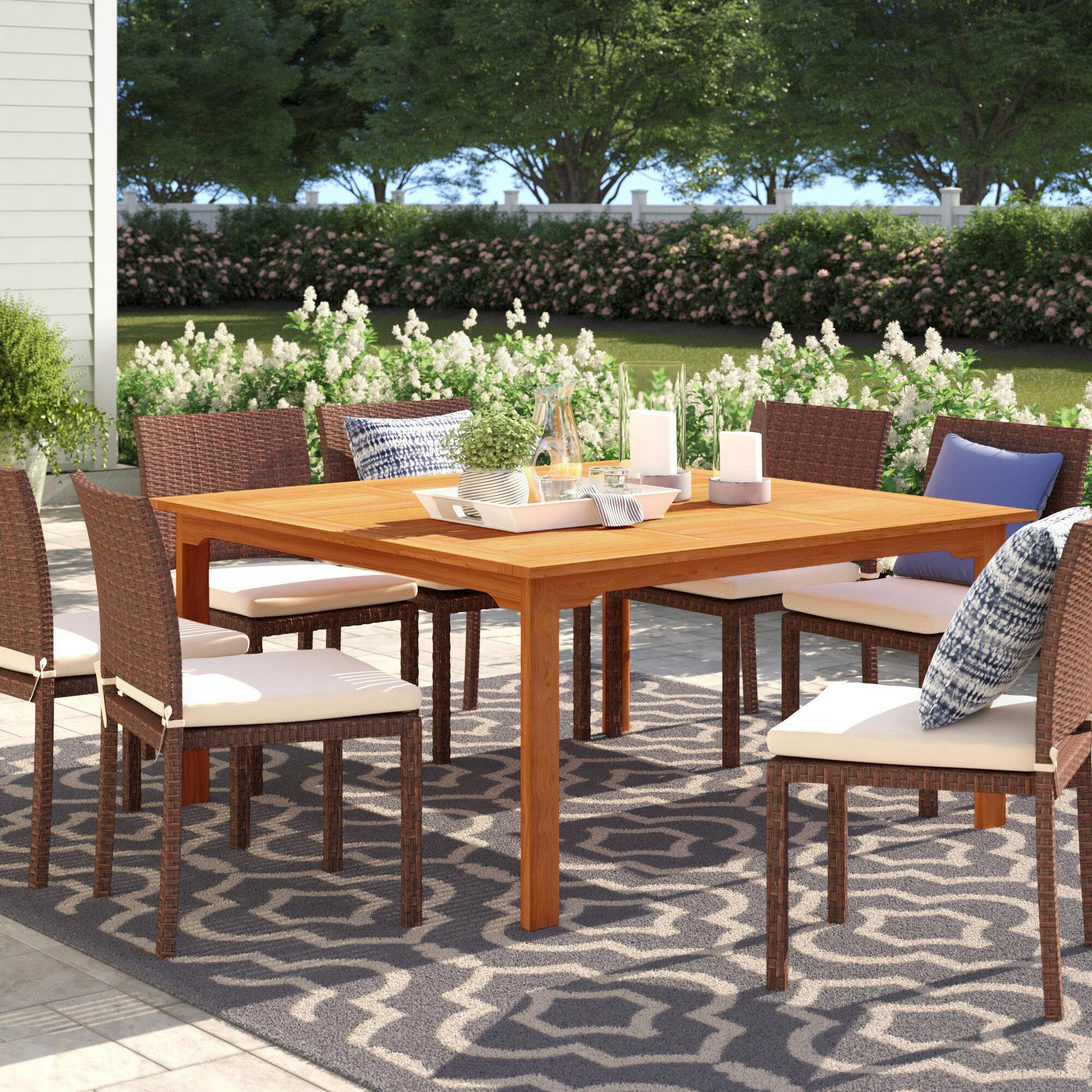 Brighton Patio Furniture.Brighton Solid Wood Dining Table
