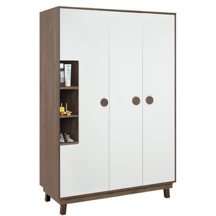 Nordic Star 3 Door Wardrobe By Roba