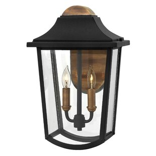 Burton 2-Light Outdoor Wall Lantern by Hi..