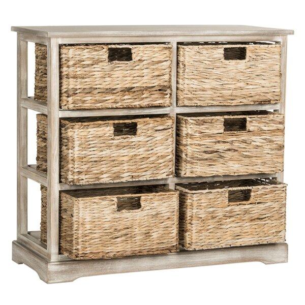 Elena 6 Basket Storage Chest Wayfair