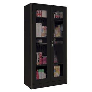 Sandusky Cabinets Elite Radius Edge 2 Door Storage Cabinet