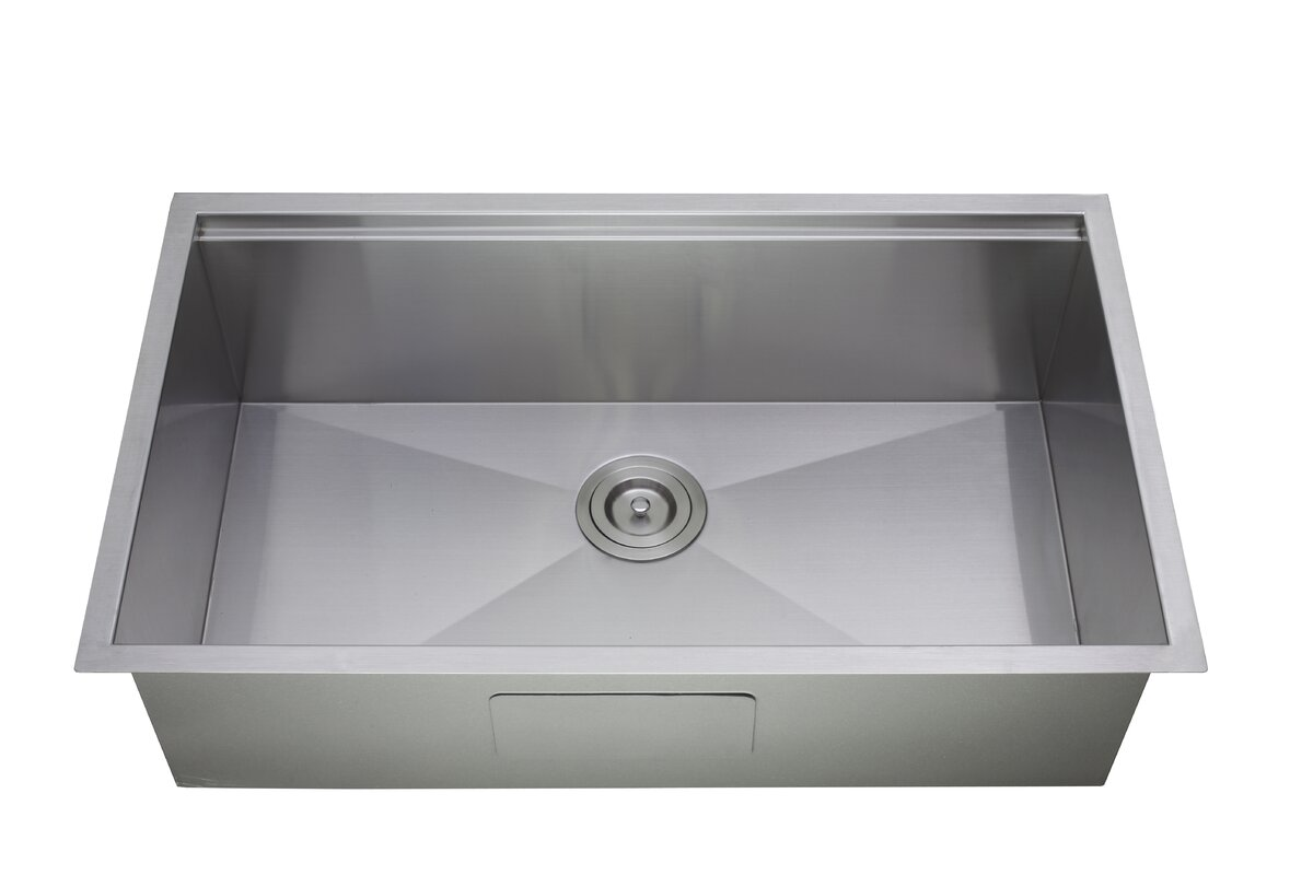 Empire industries princess all in one 32 x 10 undermount kitchen princess all in one 32 x 10 undermount kitchen sink with basket workwithnaturefo