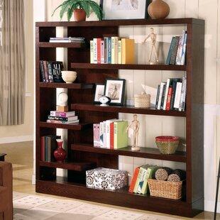 Winterville Asymmetrical Wooden Standard Bookcase
