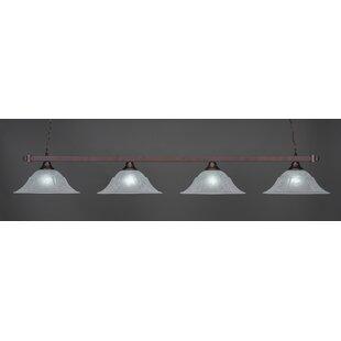 Belgr 4-Light Billiard Pendant By Red Barrel Studio