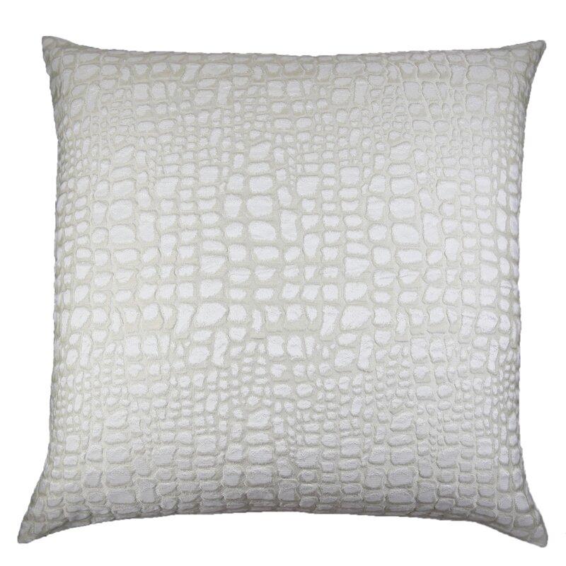 Ann Gish Croc Square Pillow Cover Insert Wayfair