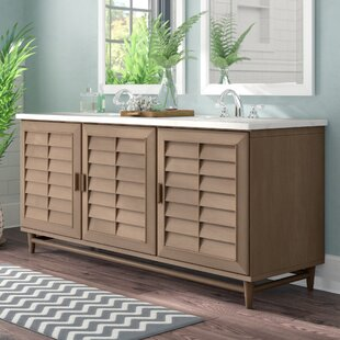 Musson 72 Double Bathroom Vanity Base by Beachcrest Home
