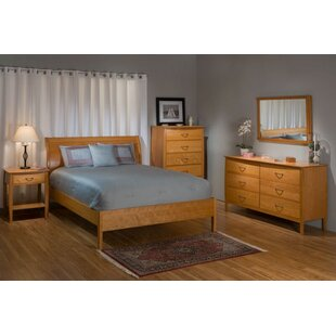 Red Barrel Studio Gerth Sleigh Configurable Bedroom Set