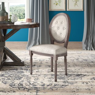 Vibbert French Upholstered Dining Chair Ophelia & Co.