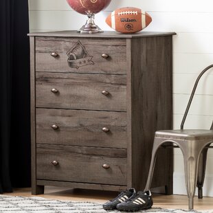 Affordable Vinbardi Football 4 Drawer Chest by South Shore Reviews (2019) & Buyer's Guide