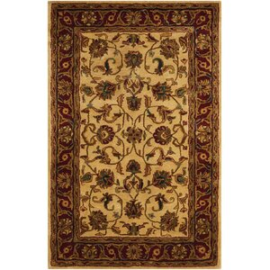 Delaware Light Gold Area Rug