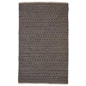 Kenzo Hand-Woven Black Area Rug