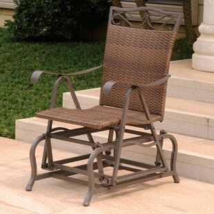 Three Posts Meetinghouse Patio Glider Chair