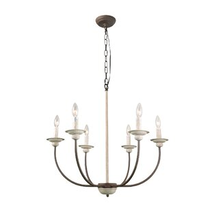 Ophelia & Co. Leigh 6-Light Chandelier