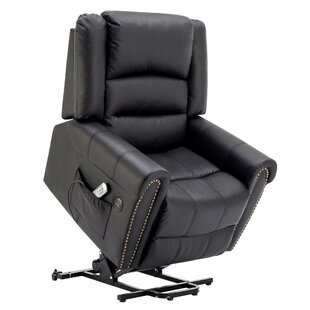 Brace Electric Power Lift Assist Recliner by Darby Home Co