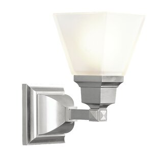 Find a Bruno 1-Light Wall Sconce By Alcott Hill