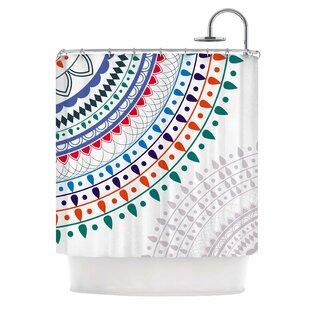 East Urban Home Famenxt Tribes Vibes Mandala Shower Curtain