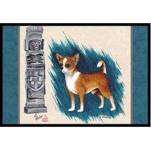 Chihuahua Totem Doormat