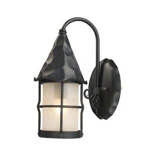 Where buy  Rustica 1-Light Outdoor Wall Lantern By Landmark Lighting