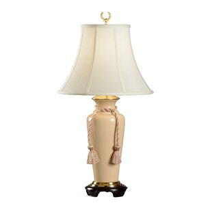 Buff Crackle 31 Table Lamp