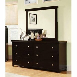 Buffalo 6 Drawer Standard Dresser/Chest