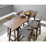 Holton 7 - Piece Counter Height Dining Set (Set of 5) by Corrigan Studio®