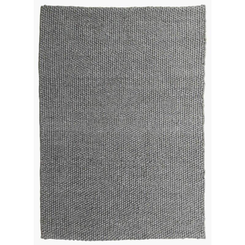 Modern Rugs Raiford Grey Felt Shag Rug Wayfair Ca