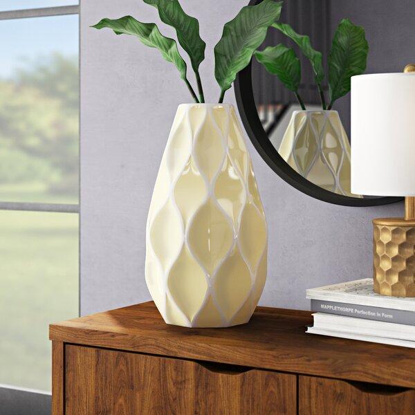 Ivy Bronx Buzzell Modern Table Vase Reviews Wayfair